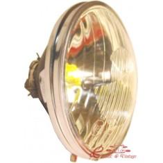 Optica CE con luz de posición cromado ,largo para antiguo y para recientes