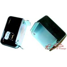 Regulador 12 v electronico en bateria toma de origen, 3 machos