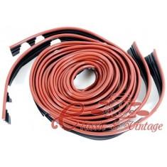 Set de 4 juntas de aleta ''ruby red'' precortadas para todo los modelos excepto1302/03
