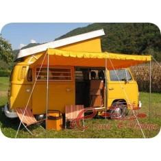 Toldo amarillo para vehiculo Wesfalia