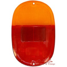 Plastico trasero 60-71 Europeo rojo / naranja