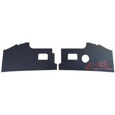 Set de 2 paneles negros delante de los pedales 68-70
