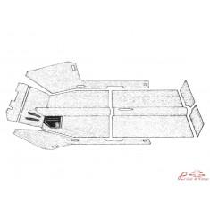 kit moqueta Type 3 61-72 con agujeros de calefacción (7pcs)