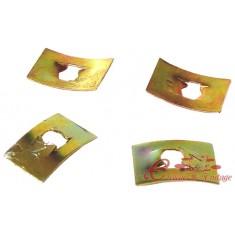 Set de 4 clips de emblema trasero -67