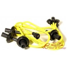 Cables de bujias MEGAVOLT silicona 8mm amarillo
