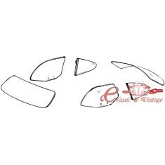 Vidrio trasero lateral claro pivotante izquierdo 60-74