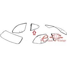 Vidrio lateral claro pivotante trasero derecho 60-74