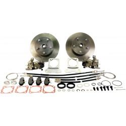 kit de frenos de discos traseros 4x130 con platinas reforzadas a cardans73-
