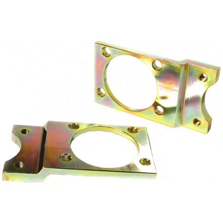 set de 2 platines support étrier 1302-1303