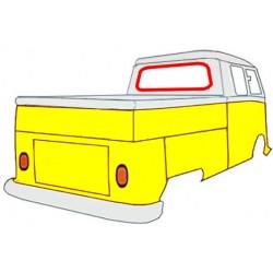 Junta de vidrio trasero 66-67 y pickup 66-67
