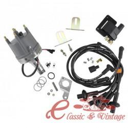 kit de encendido MAGNASPARK 2 (distribuidor + cables de bujias + bobina + brida de distribuidor)