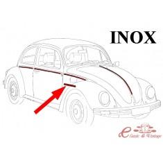 Set de 7 molduras inox (para capot sin escudo ) 8/62-7/66