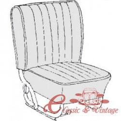 kit fundas de sillones gris claro cabriolet 65-67 sin reposacabezas