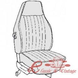 kit fundas de sillones gris claro cabriolet 73 con reposacabezas