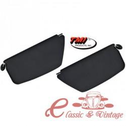 Set de 2 parasoles TMI negros 8/64-7/67 (sin espejo lado pasajero )