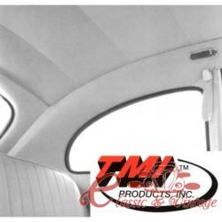 Tapizado de techo blanco 63-67 en vinilo perforado