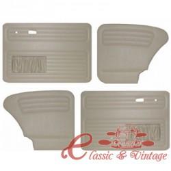 Set de 4 paneles grises con bolsillos 67- TMI