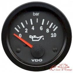 Manometro de presión de aceite 0-10 bars