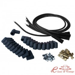 Cables de bujias para encendido PERTRONIX negro