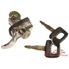 Cerradura de capot trasero 8/66-7/71 (Fijación tres tornillos )