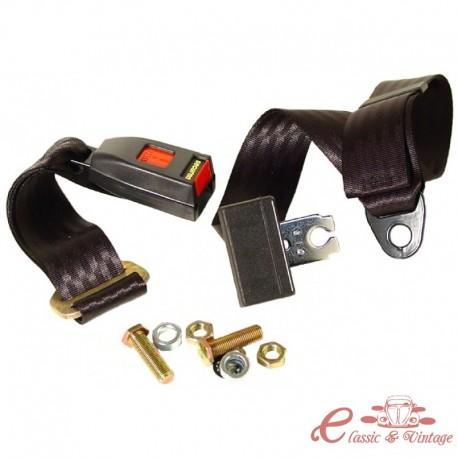 Cinturón de 2 puntos de atadura manual