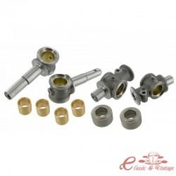 Set de 2 kits de reparación de pivotes de direccion -63