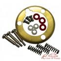 Set de montaje (16 piezas) para cerclaje volante cromado 8/71-