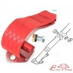 Extension de cinturon rojo
