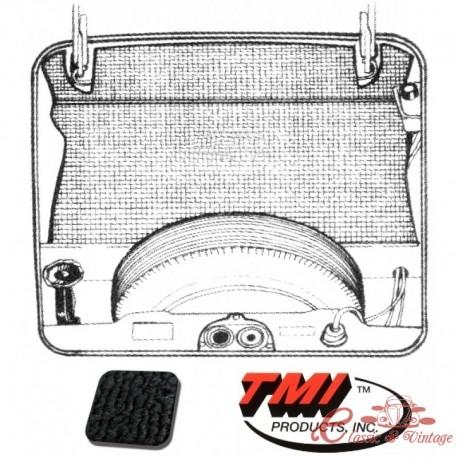 kit moqueta maletero delantero en negro Type 3 71-74 (5pcs)