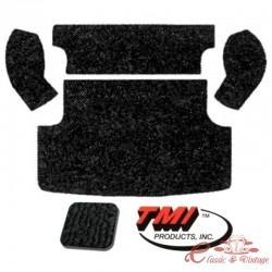 kit moquette de coffre arrière noire Variant 61-74 (5pcs)