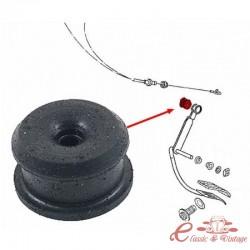 Silenblock de fijación de cable de acelerador GOLF 1 (Excepto automatico)