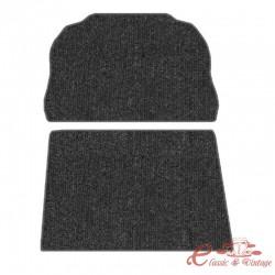 kit moqueta de maletero delantero en negro 1302 -7/73