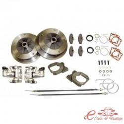 Kit freno disco trasero 5x205 para trompetas -67