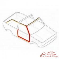 Junta de puerta derecha para Golf 1 Cabriolet -7/83
