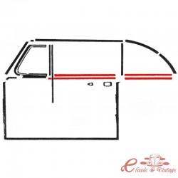Set de 2 escupeaguas del o trasero interior o exterior izq o der cab. 54-64