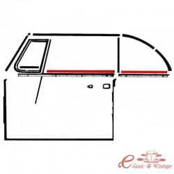 Escupeaguas interior delantero o trasero izquierdo o derecho cabriolet. 65-79