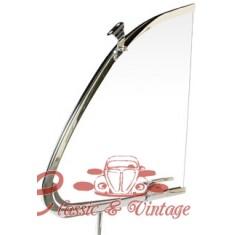 Vidrio deflector izquierdo con marco 56-64