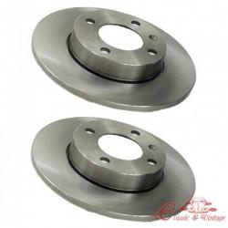 Set de discos de freno delantero 239x10mm 2/74-7/83 1.1-1.3 2/74-10/91 D