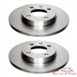 Kit discos de freno delantero 239x12mm 2/74-7/83 1.5-1.6 ,8/83-10/91 1.5-1.8+TD , 11/91-3/95 noGTI gas+D+TD