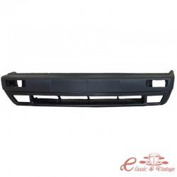 Parachoques delantero negro con agujeros para Golf 2 8 / 89- faros antiniebla