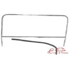 Parabrisas de buggy completo (Marco y junta de vidrio) Anchura 106 / 106,5 cm ,630 mm altura