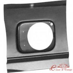 Placa de reparación exterior del orificio de entrada del tanque del golf 2