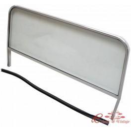 Parabrisas de buggy completo (cuadro y juntas de vidrio ) Anchura 110 / 111 cm ,630 mm de altura