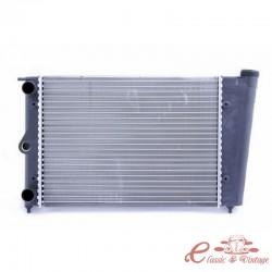 Radiador de agua de 430 mm de ancho para Golf 1 1100-1300cc 81-83 (depósito de expansión integrado)