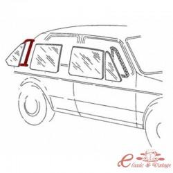 Junta para ventana de puerta trasera derecha fija incluida para molduras de 5 puertas Golf 1