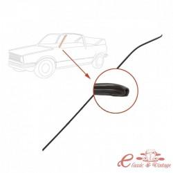 Parabrisas Golf 1 Cabriolet moldura negra izquierda
