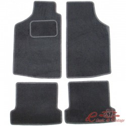 Kit de 4 alfombrillas negras para Caddy -92