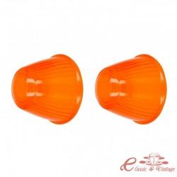 Juego de 2 plasticos naranja para intermitentes delanteros 59-64