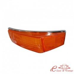 Cristal intermitente delantero izquierdo naranja 70-74
