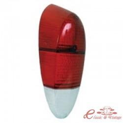 glace de feu arrière 70-71 rouge